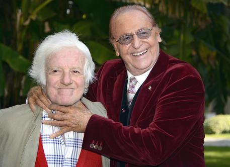 Mario Marenco con Renzo Arbore