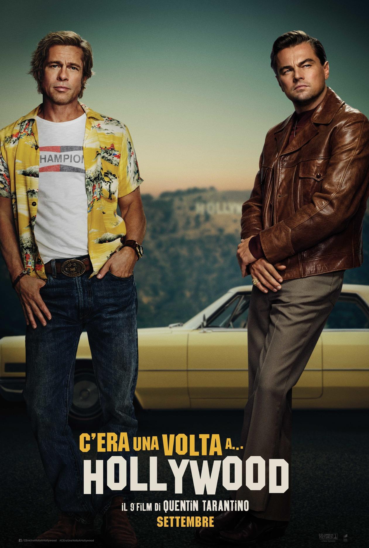 C'era una volta a Hollywood: il poster italiano