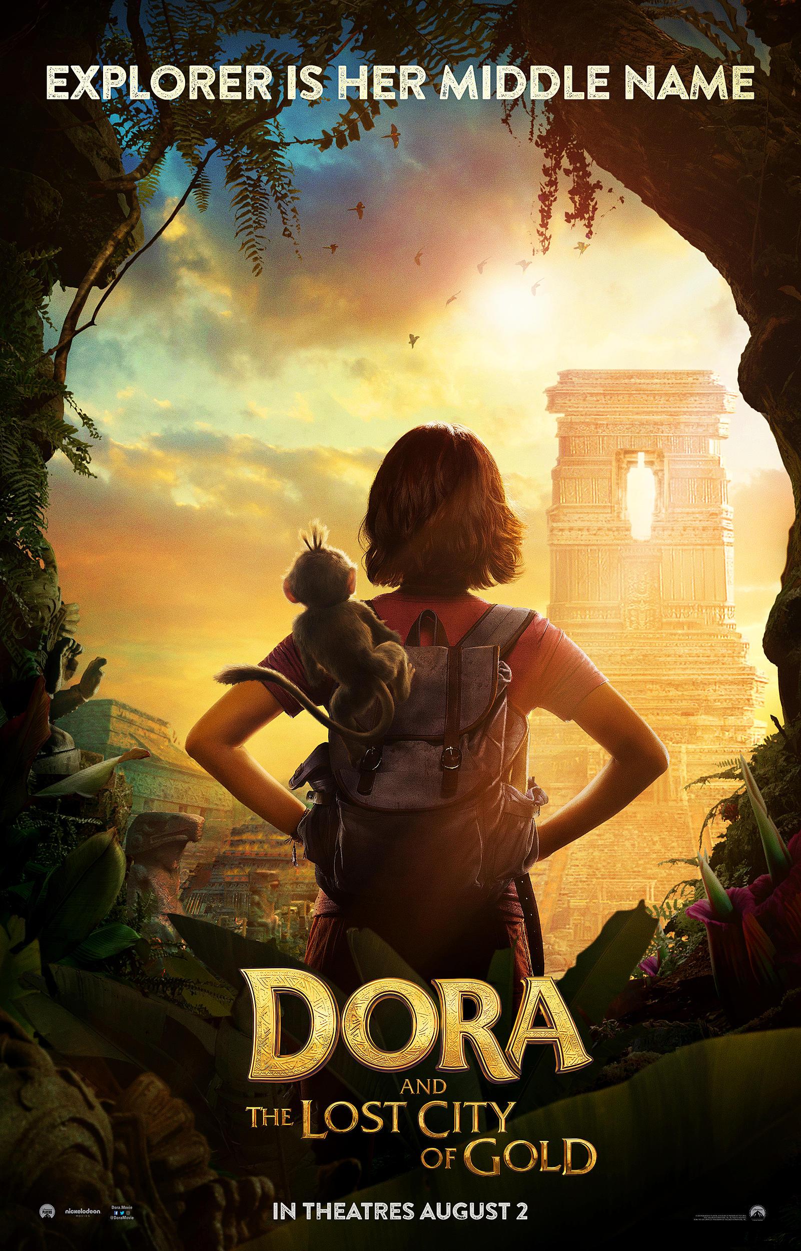 Dora and the Lost City of Gold: la locandina del film