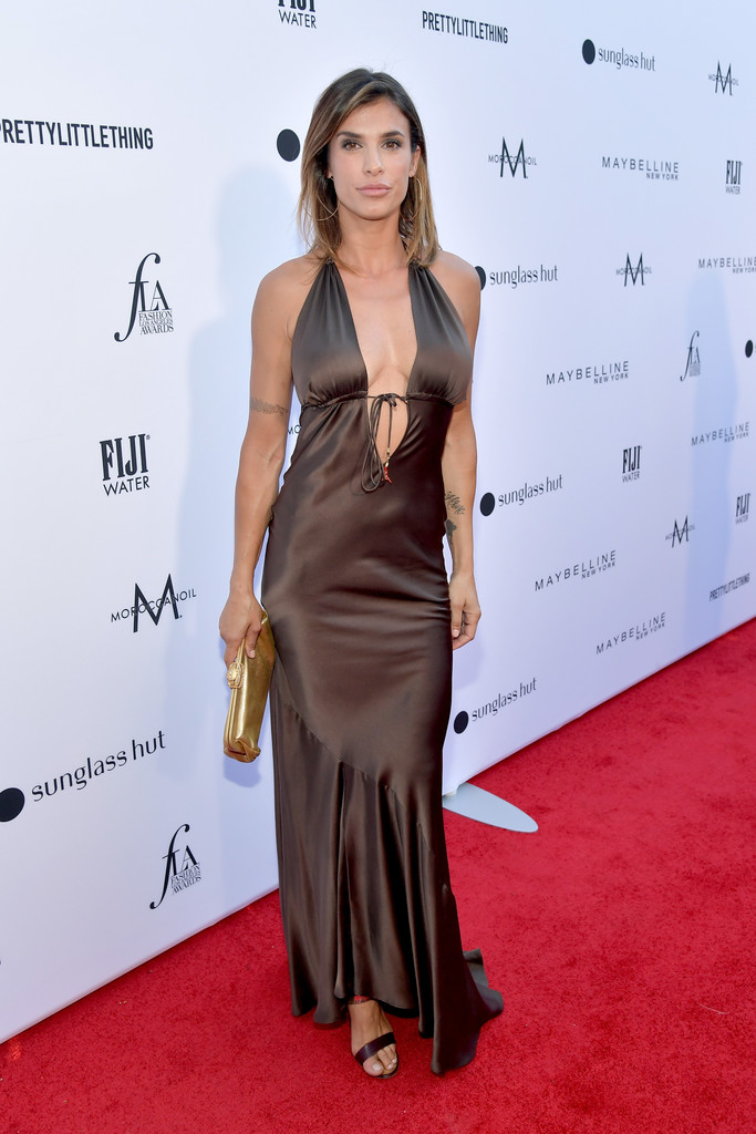 Elisabetta Canalis ai Fashion Los Angeles Awards 2019
