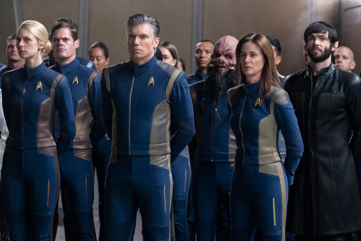 Star Trek Discovery: una scena dell'episodio The Red Angel