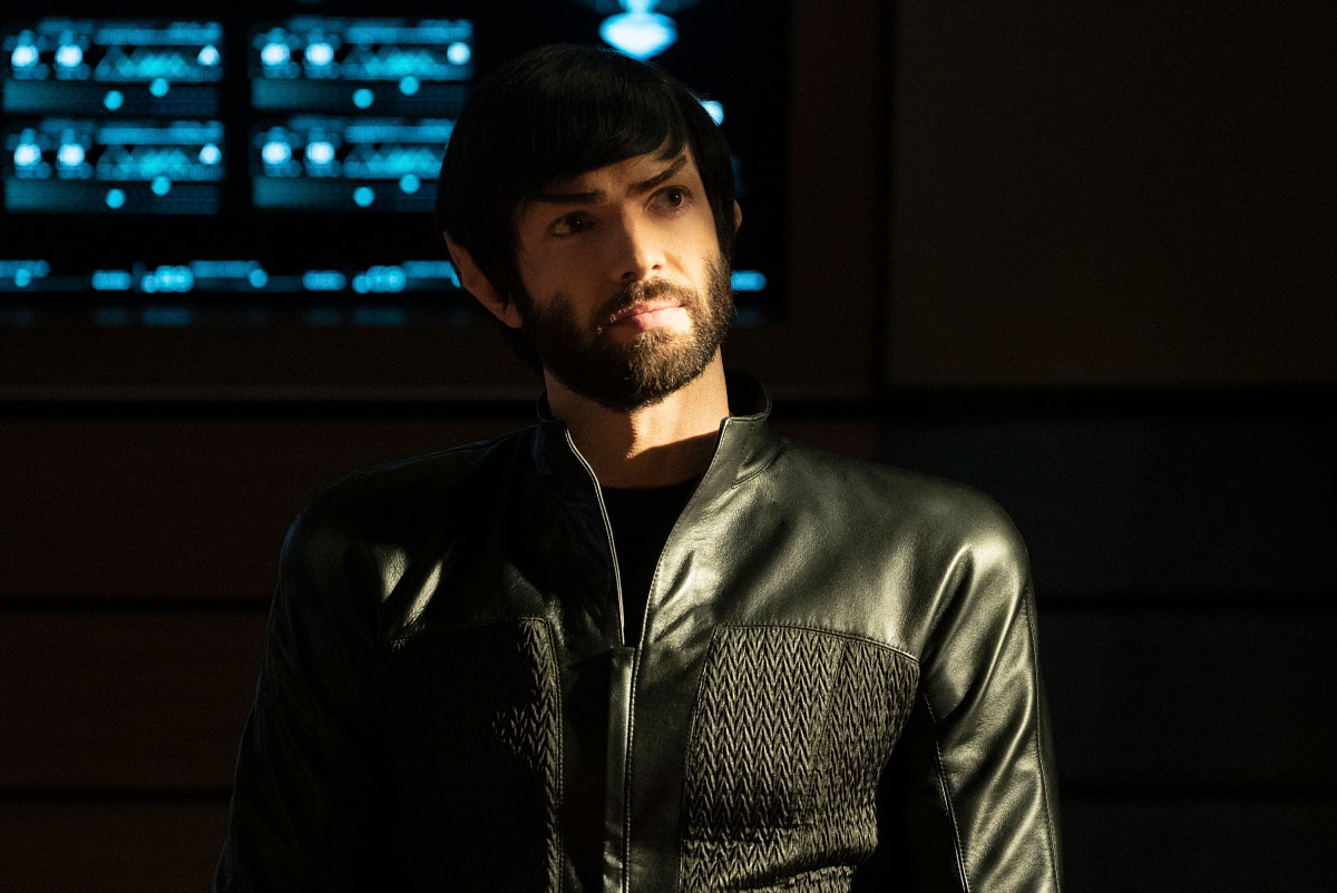 Star Trek Discovery: Ethan Peck nell'episodio The Red Angel