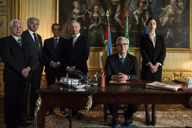 Bentornato Presidente:  una scena del film