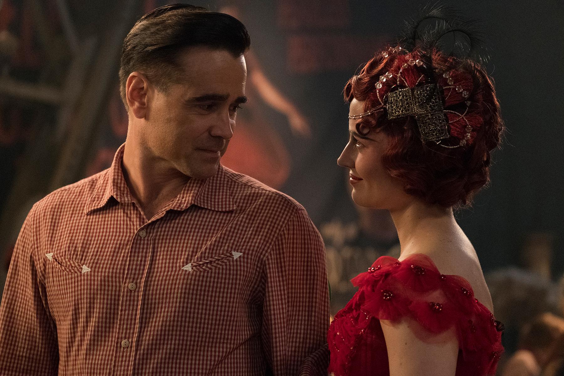 Dumbo: Eva Green e Colin Farrell in una scena del film