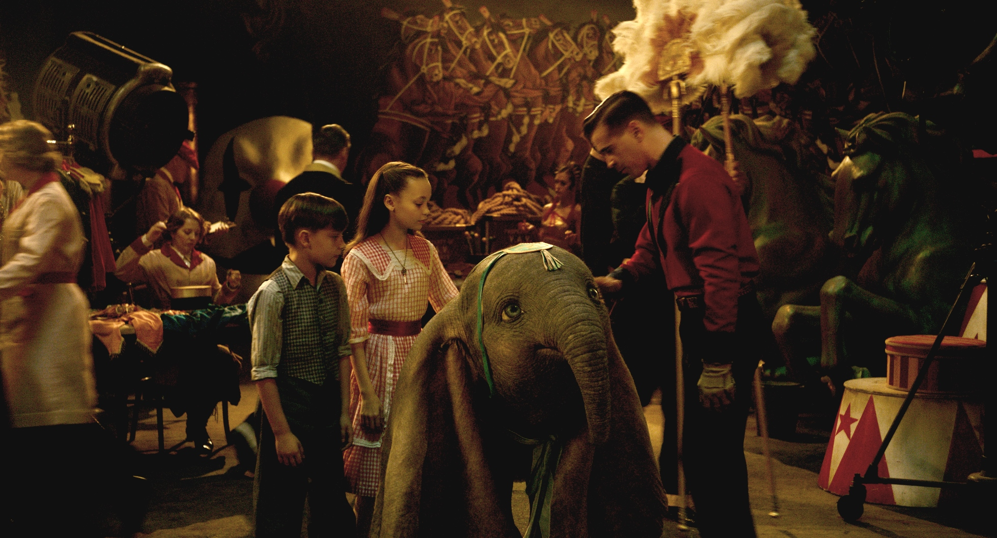 Dumbo: una scena del film
