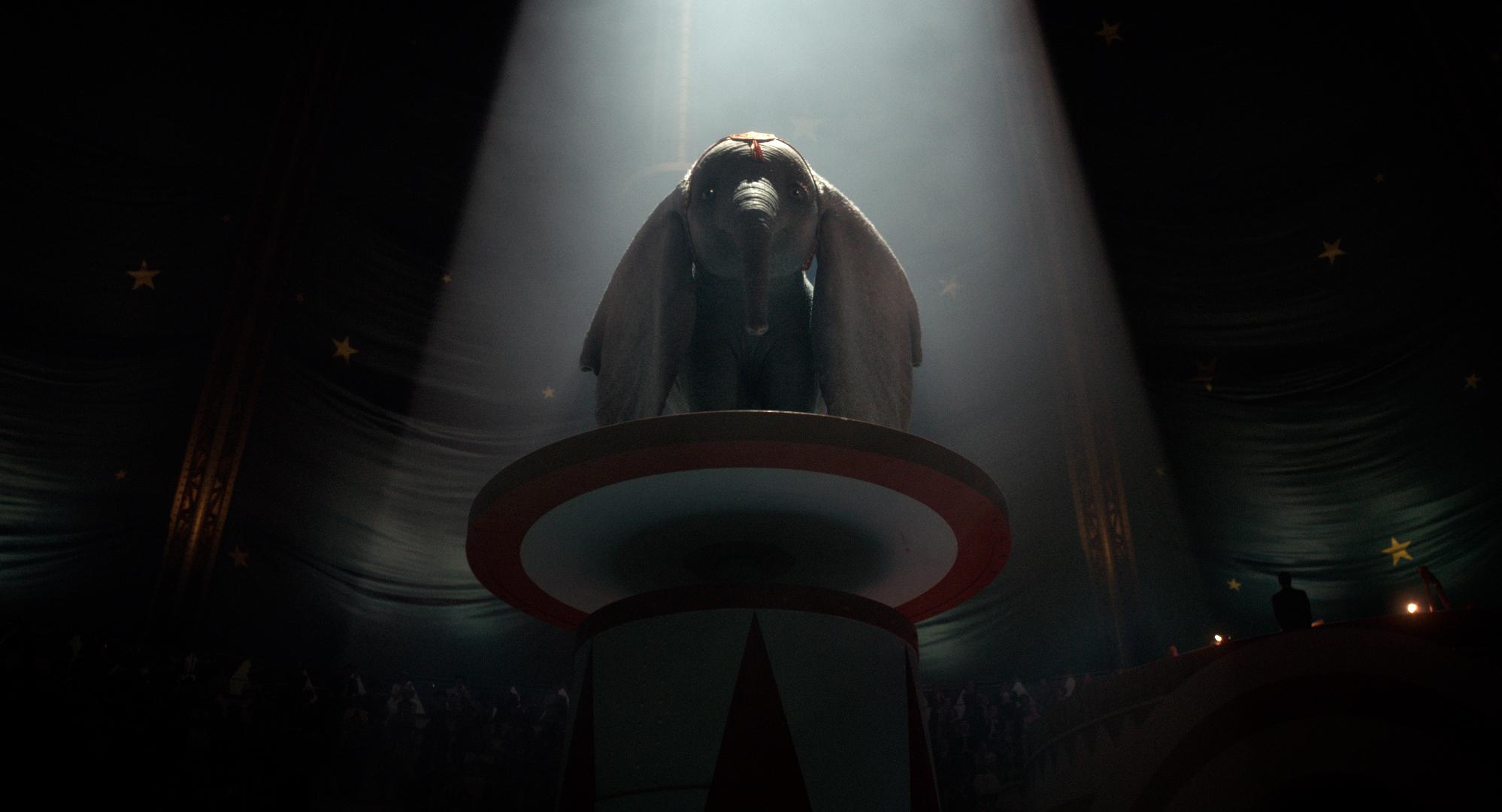 Dumbo: un'immagine del film