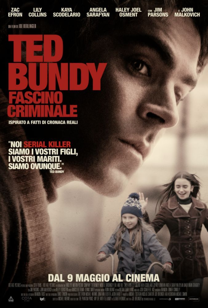 Ted Bundy - fascino criminale, il poster italiano