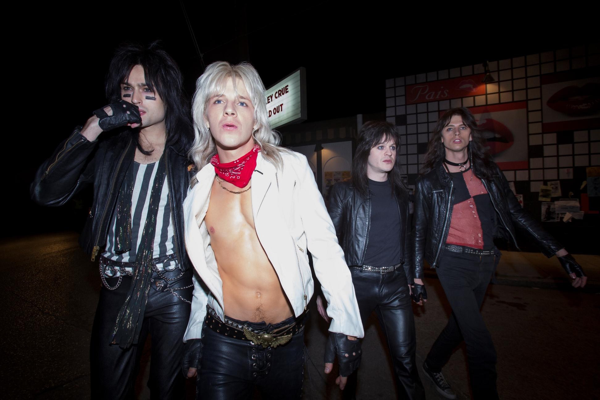 The Dirt: Mötley Crüe, un'immagine del film