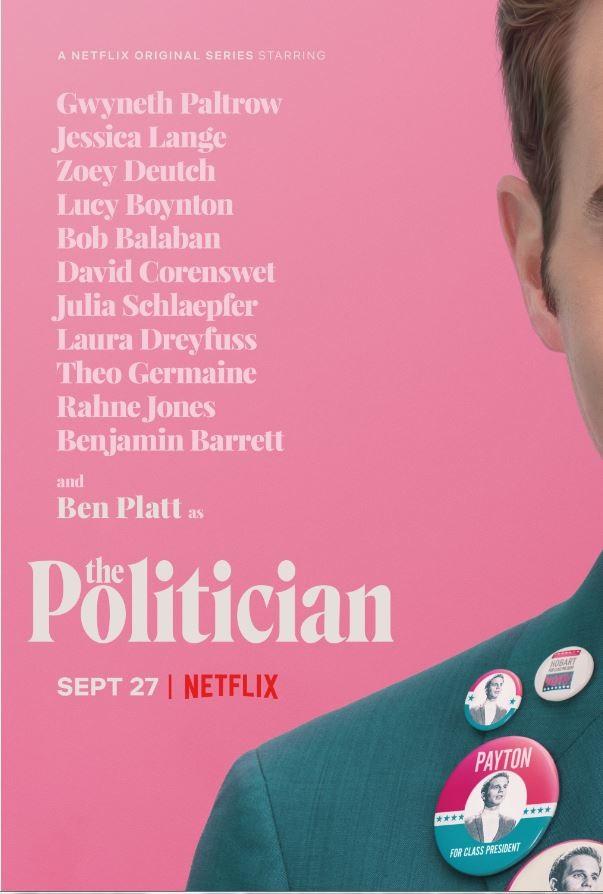 The Politician: il poster della serie Netflix
