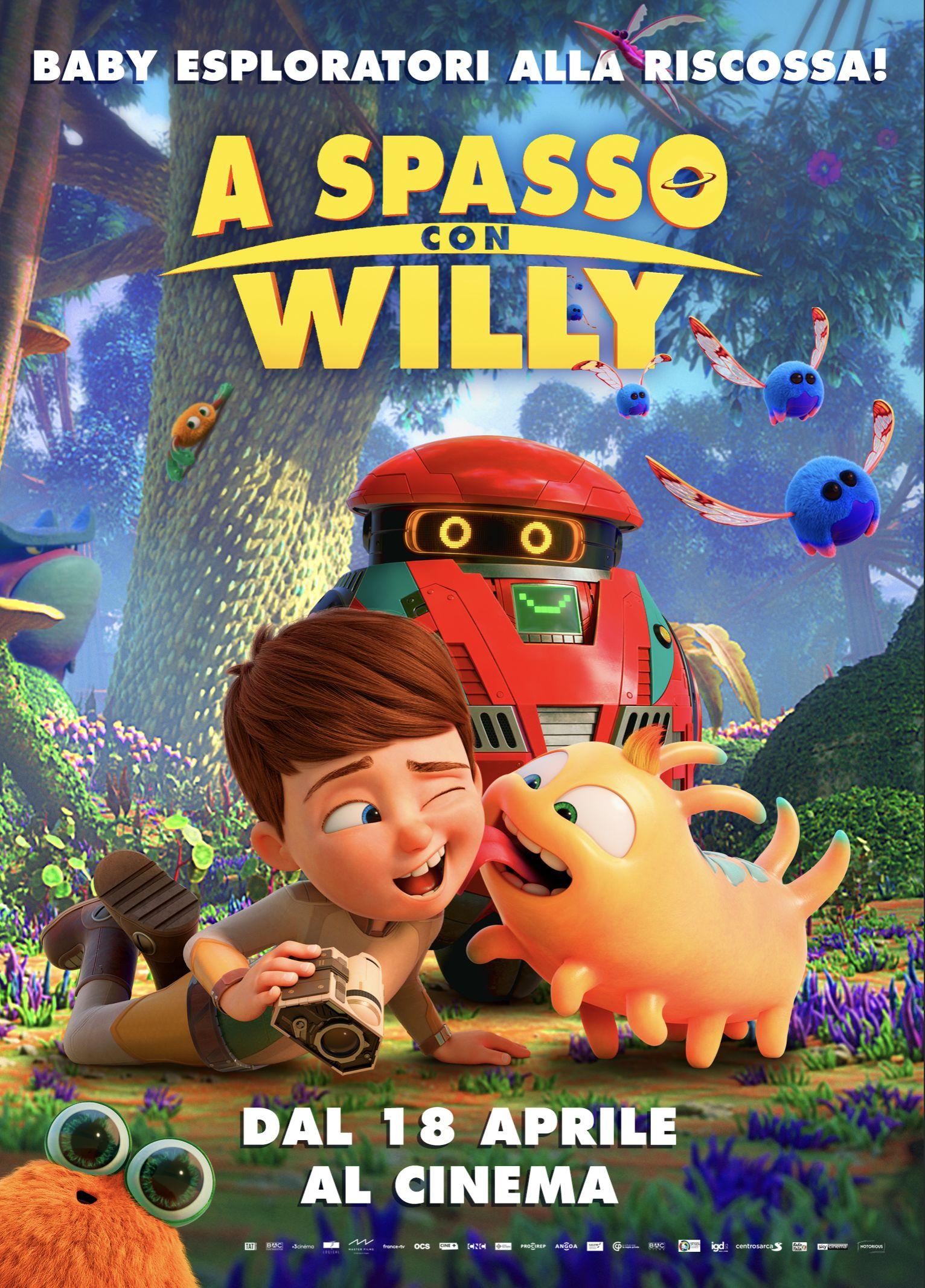 Locandina di A spasso con Willy