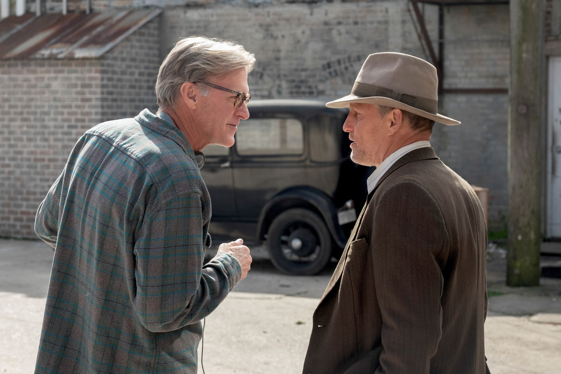 Highwaymen - L'ultima Imboscata: Woody Harrelson sul set