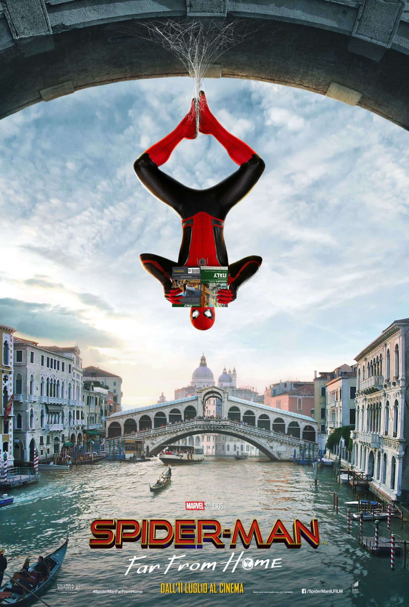 Spider-Man: Far From Home, un poster per il film