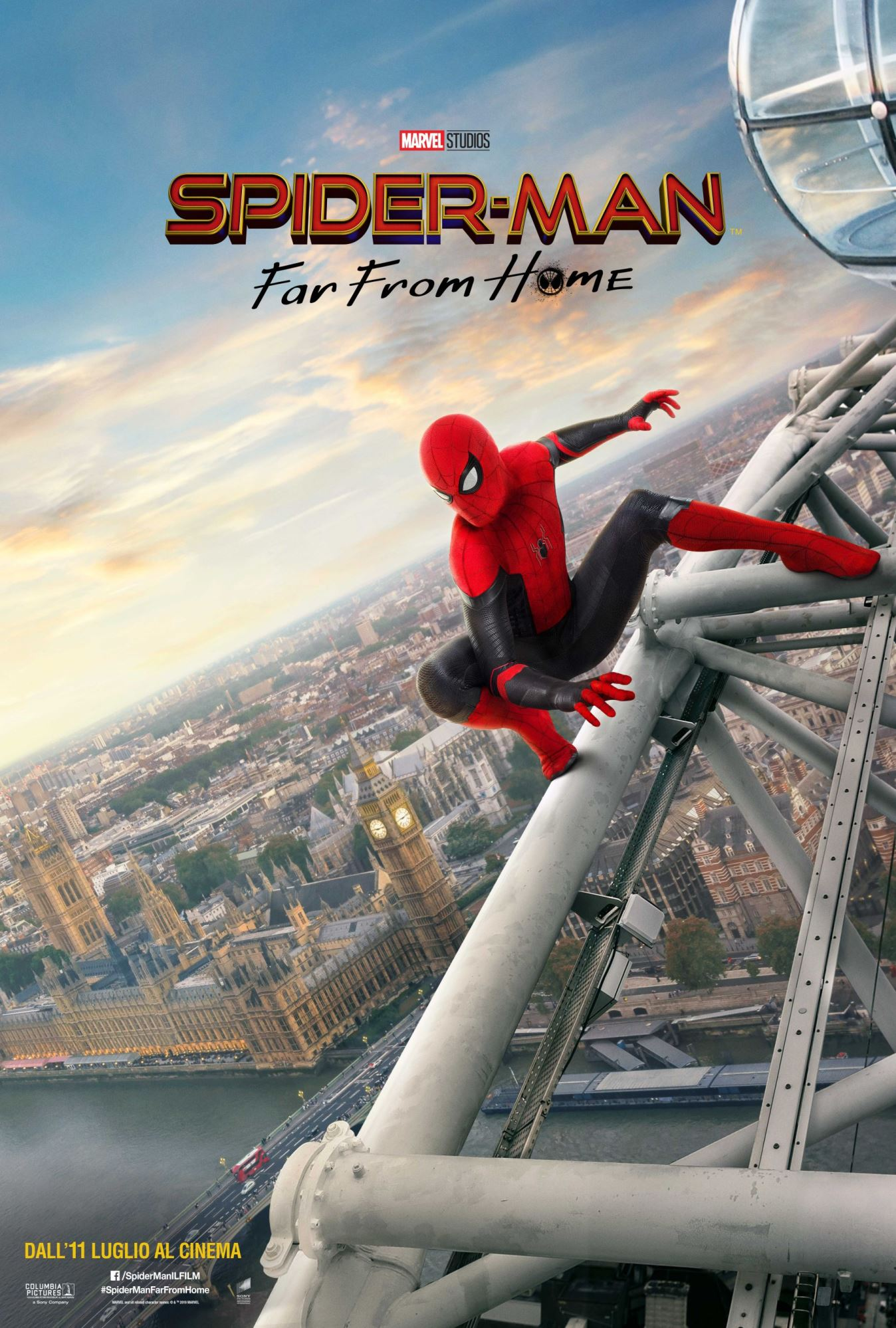 Spider-Man: Far From Home, un nuovo poster per il cine-comic