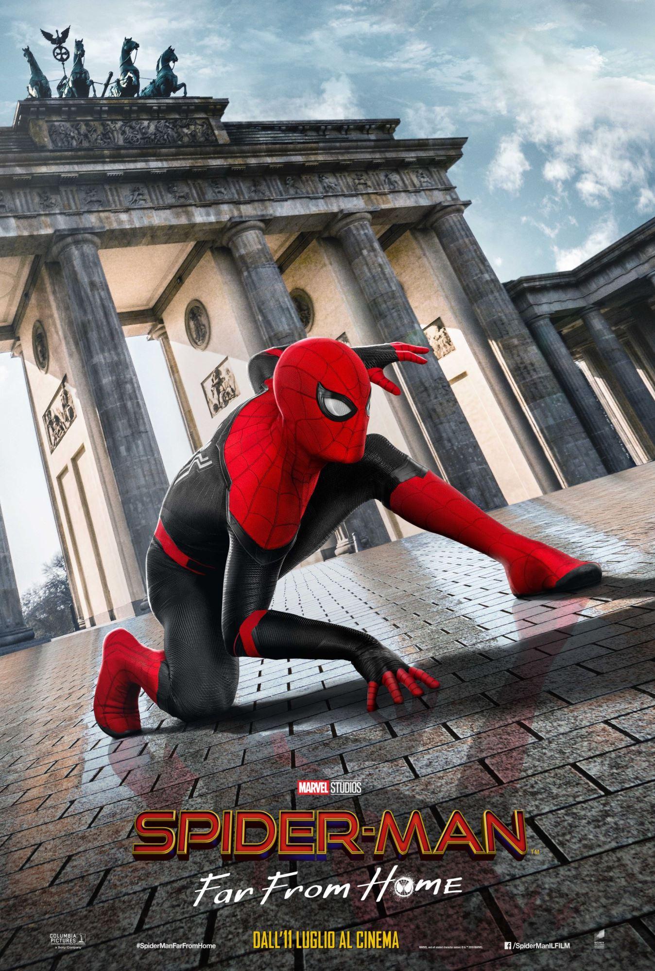 Spider-Man: Far From Home, un nuovo poster per il film