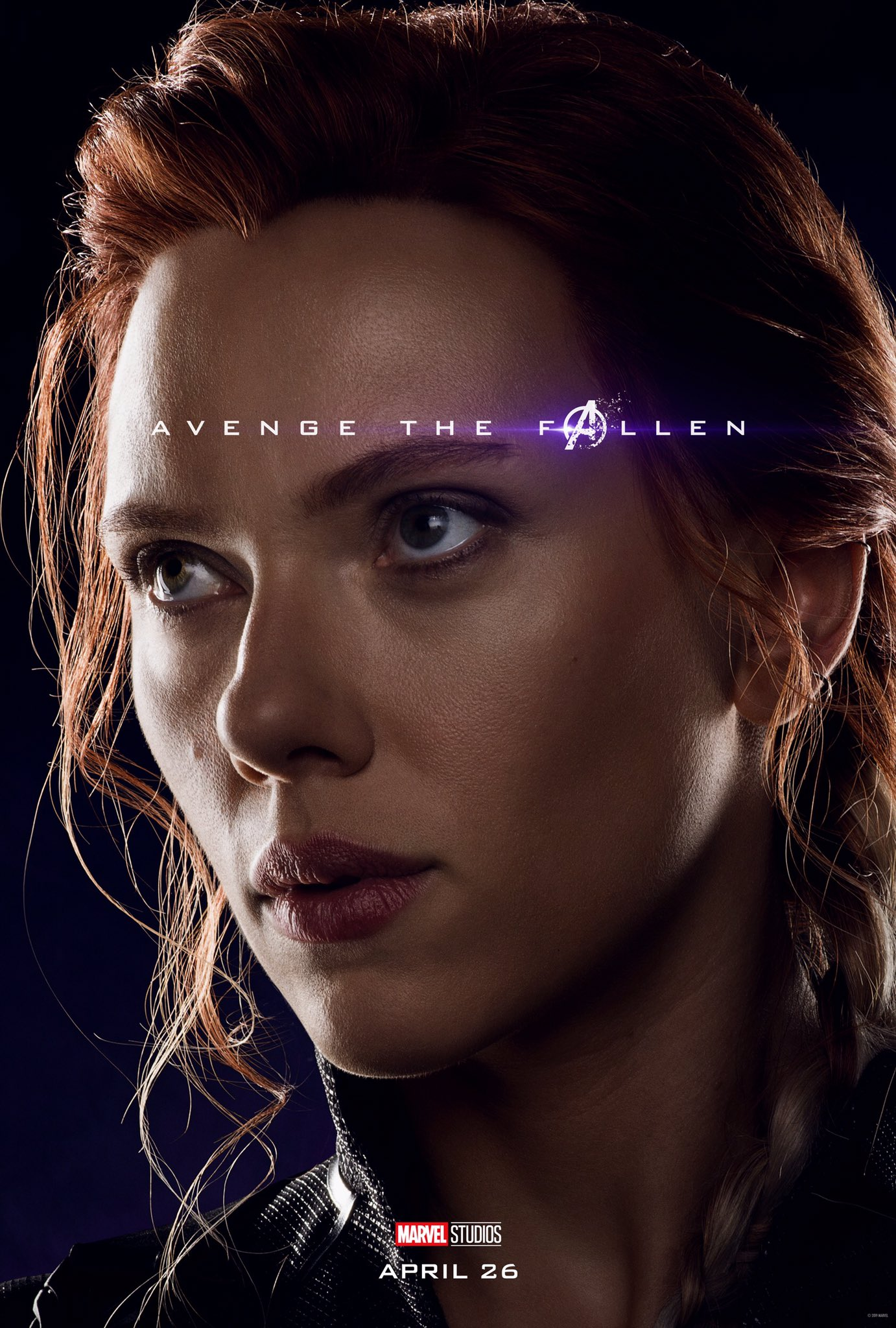 Avengers: Endgame, il character poster di Black Widow