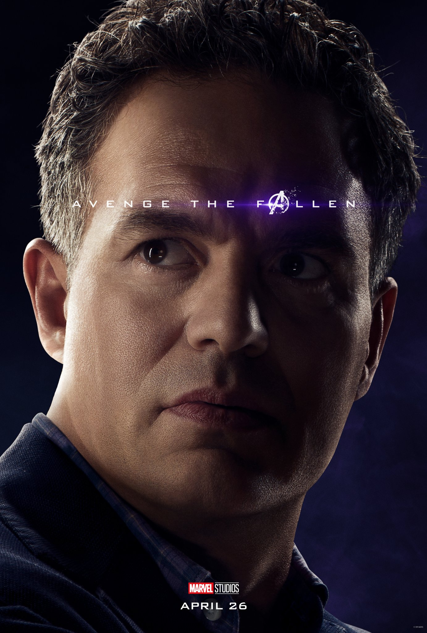 Avengers: Endgame, il character poster di Bruce Banner