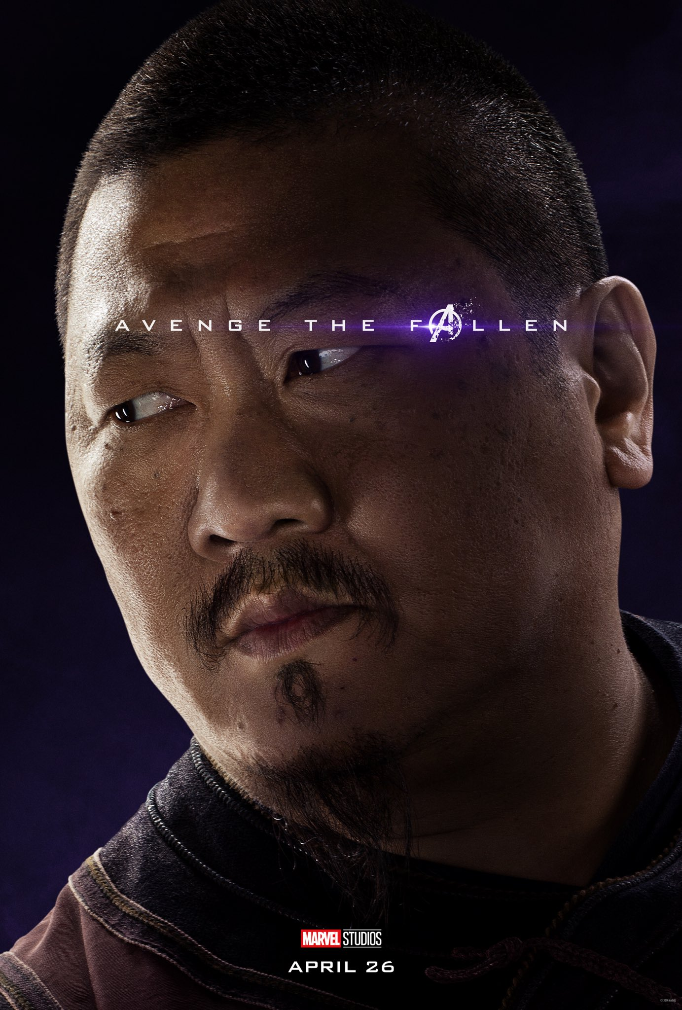 Avengers: Endgame, il character poster di Wong