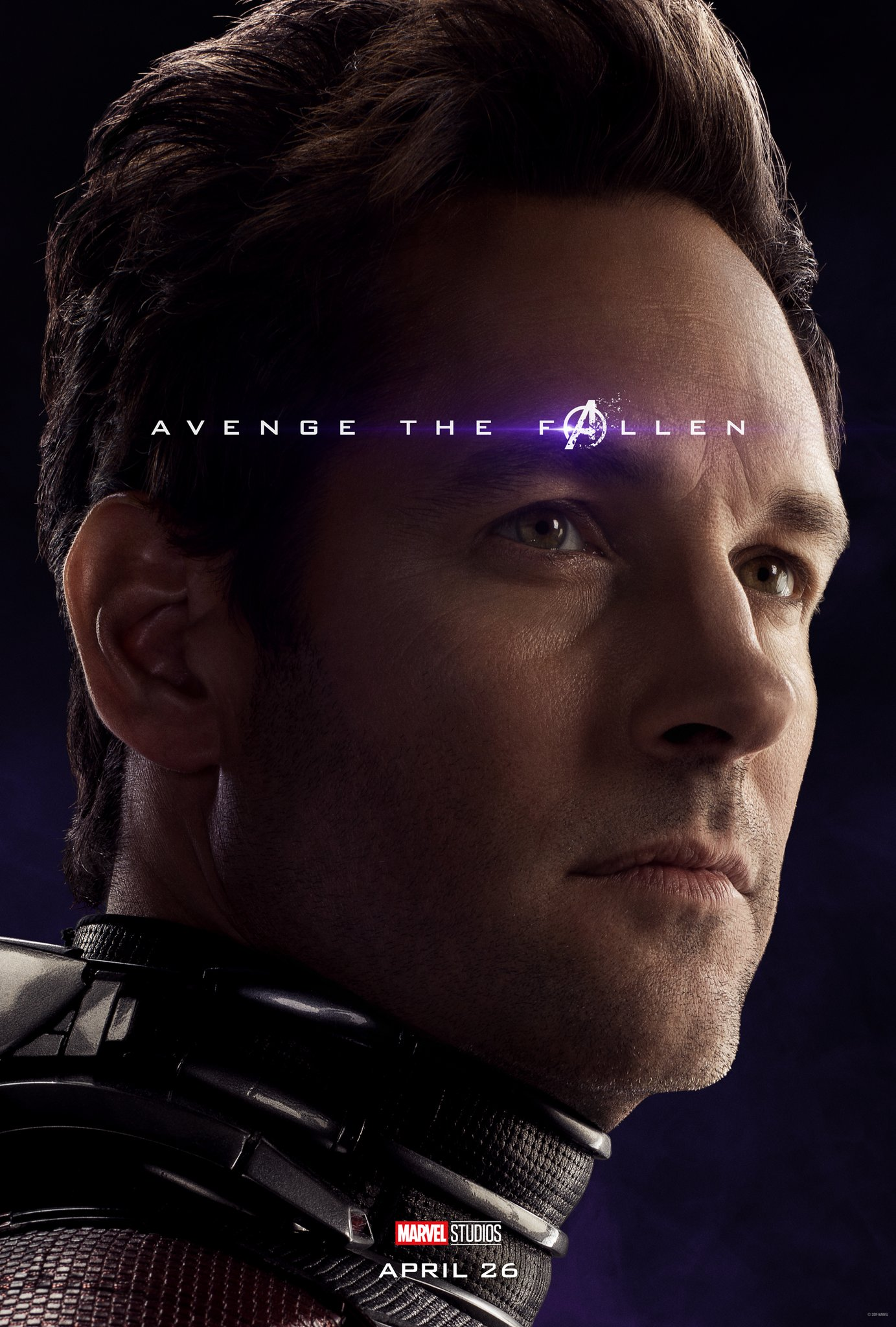 Avengers: Endgame, il character poster di Ant-Man