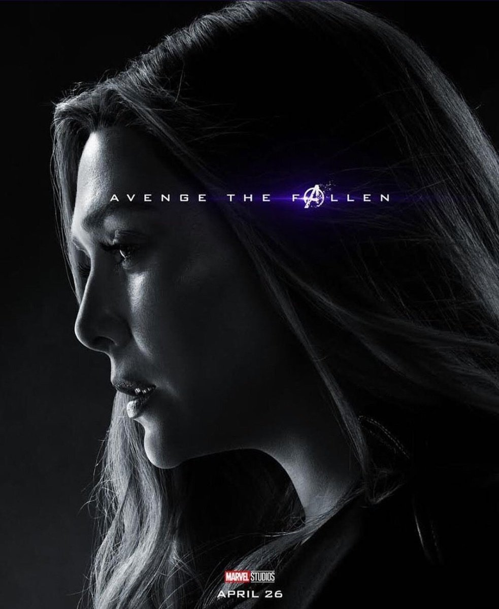 Avengers: Endgame: il character poster di Scarlet Witch