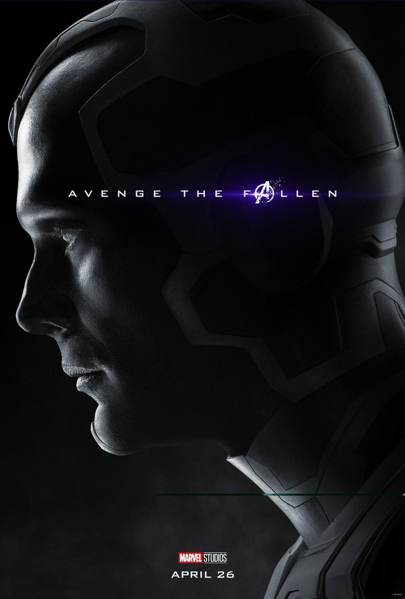 Avengers: Endgame: il character poster di Vision