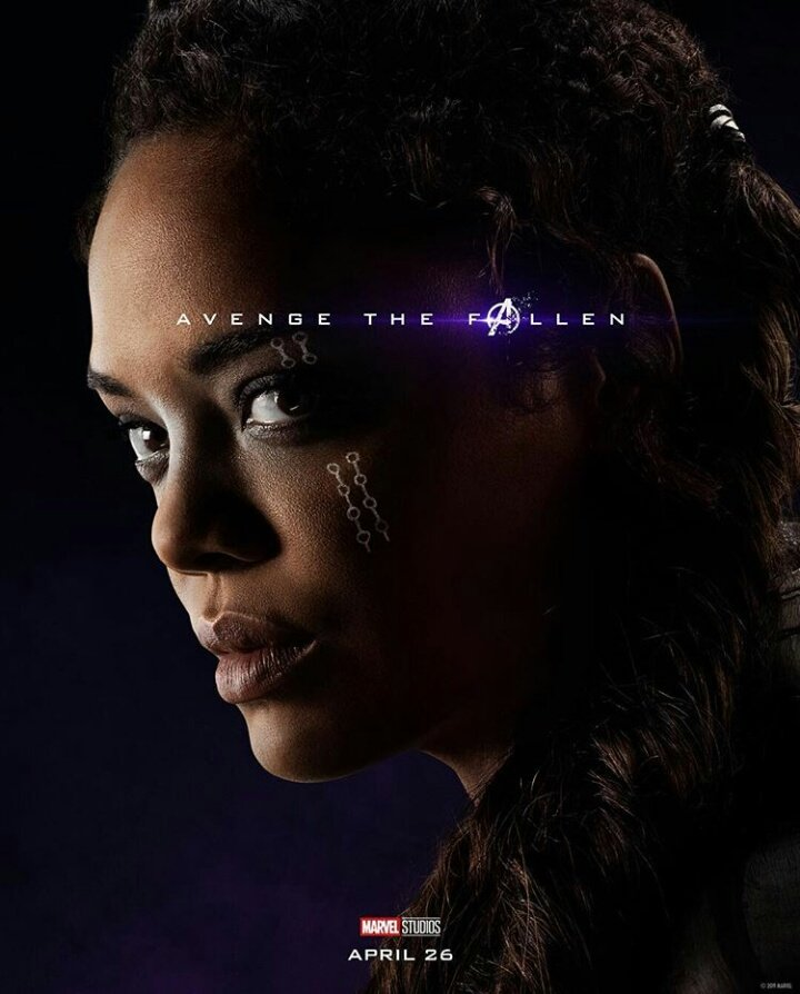 Avengers: Endgame: il character poster di Valkyrie