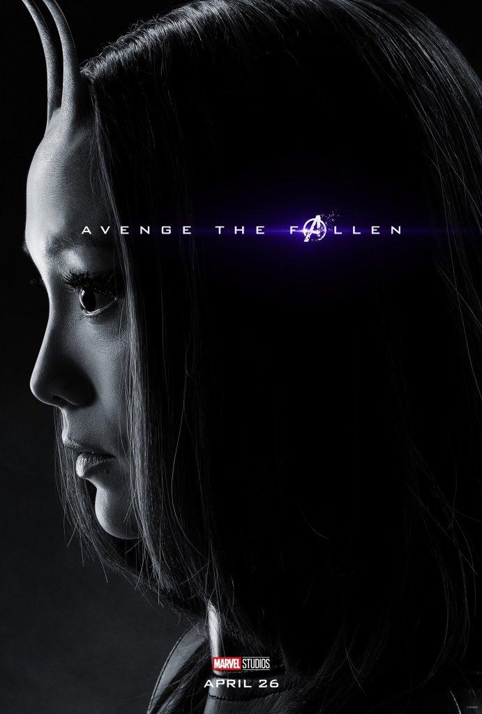 Avengers: Endgame: il character poster di Mantis