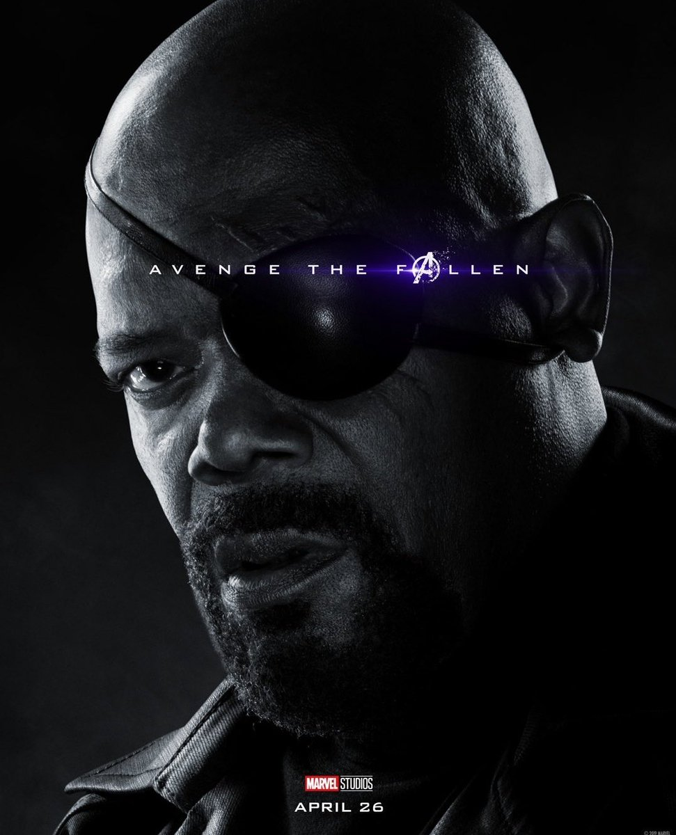Avengers: Endgame: il character poster di Nick Fury