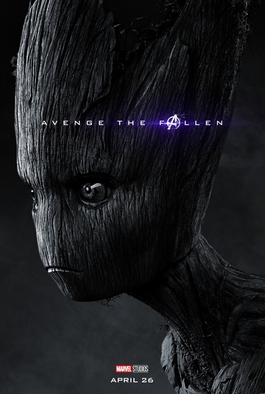 Avengers: Endgame, il character poster di Groot