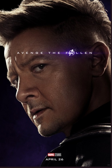 Avengers: Endgame, il character poster di Jeremy Renner