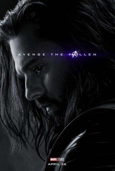 Avengers: Endgame, il character poster di Sebastian Stan