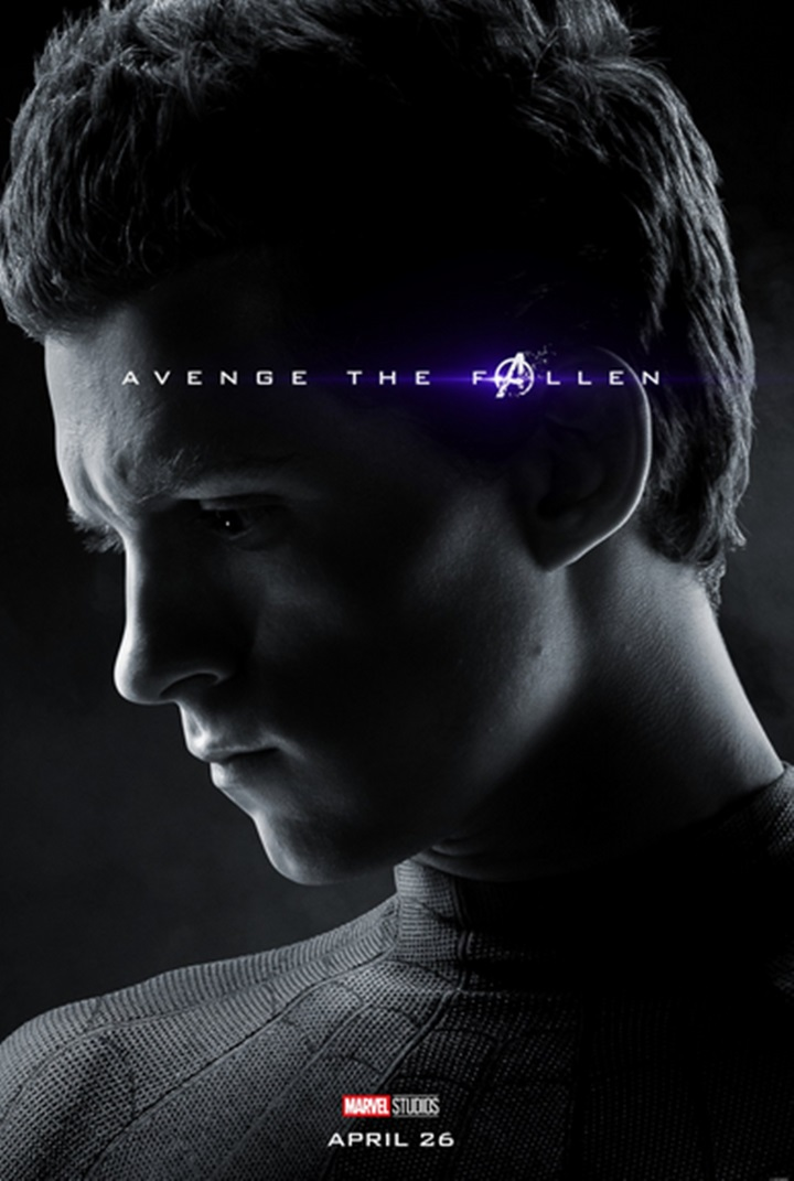 Avengers: Endgame, il character poster di Tom Holland