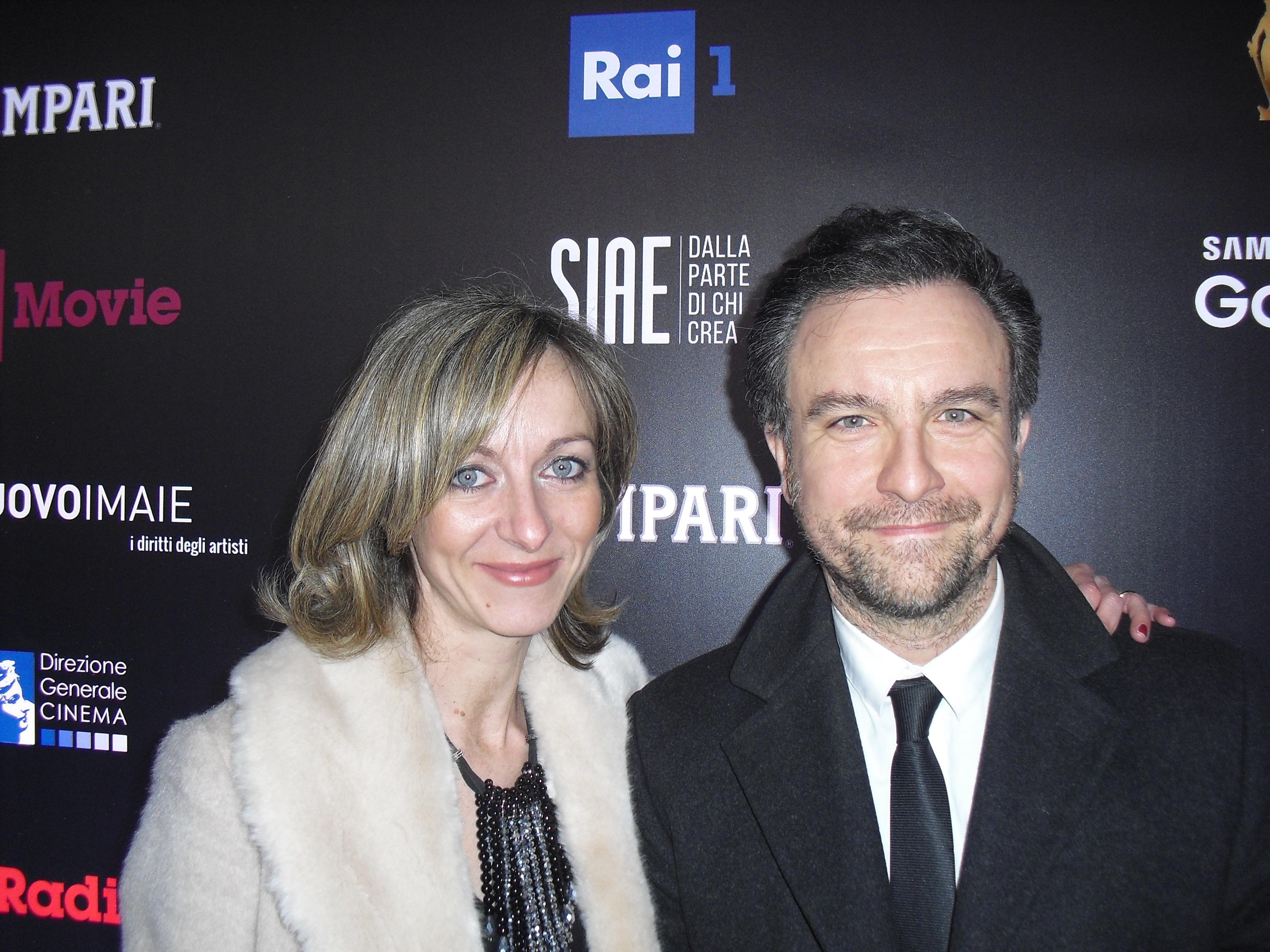 Maurizio Bianucci durante la cerimonia del David di Donatello 2018