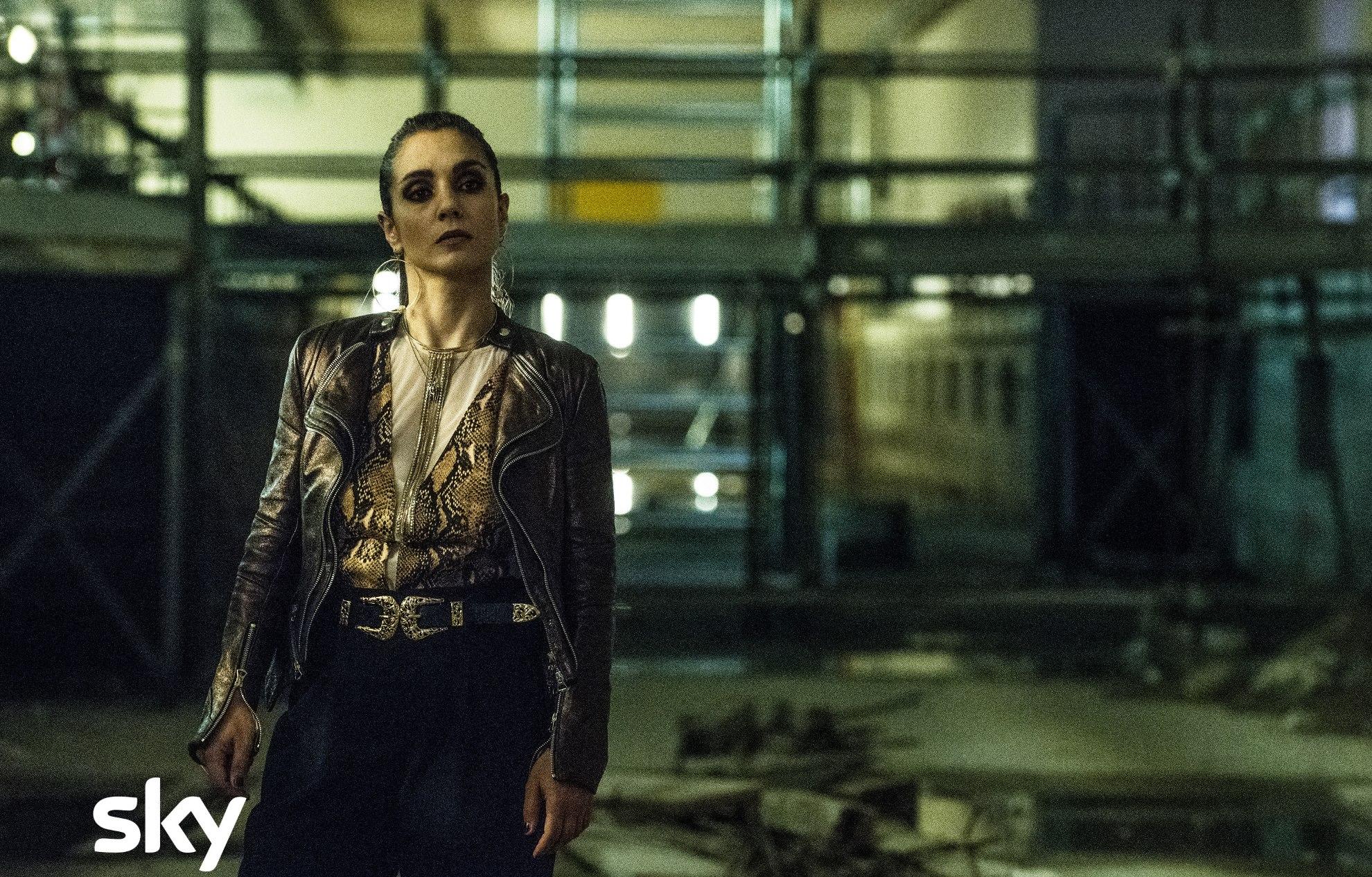 Gomorra: una scena del quinto episodio della quarta stagione con Cristiana Dell'Anna