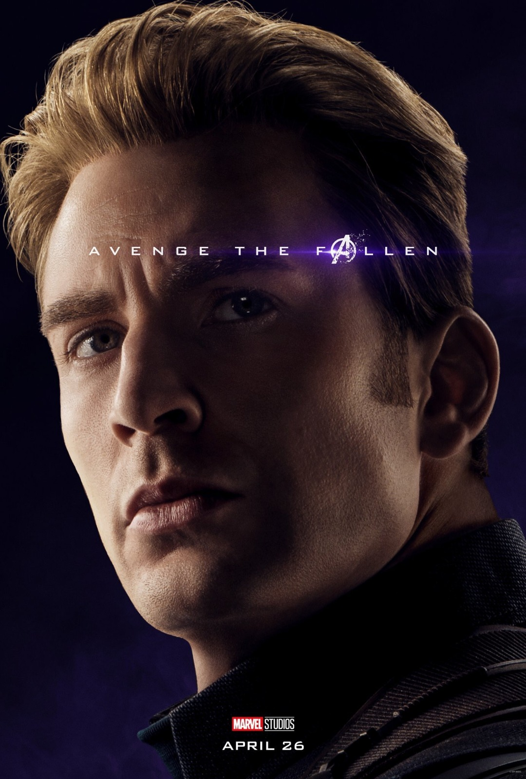 Avengers: Endgame, il character poster di Chris Evans