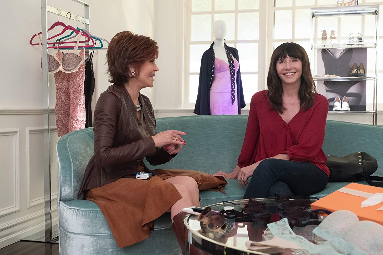 Book Club - Tutto può succedere: Jane Fonda e Mary Steenburgen in una scena