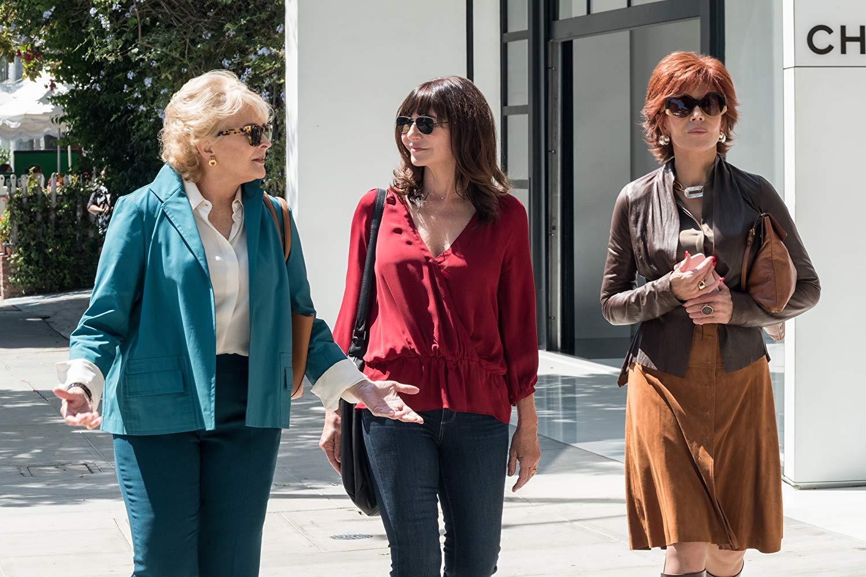 Book Club - Tutto può succedere: Jane Fonda, Candice Bergen e Mary Steenburgen in una scena