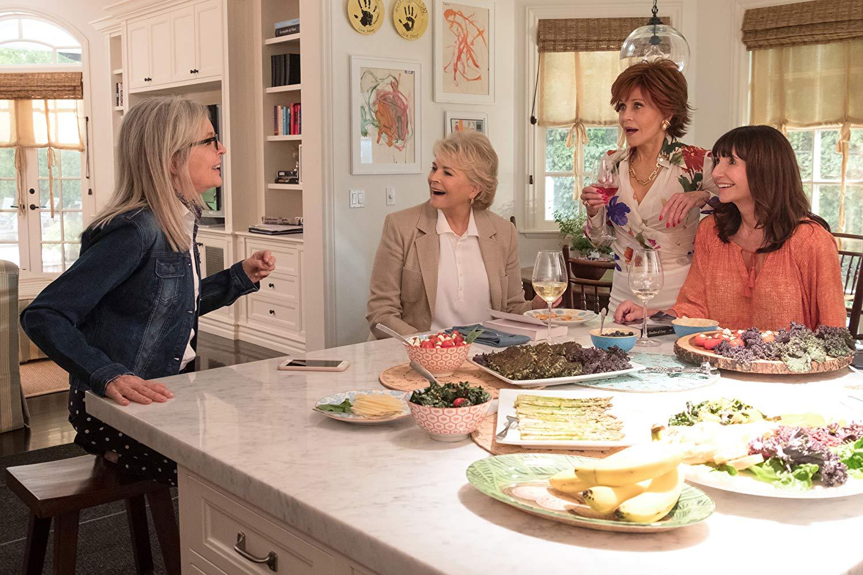 Book Club - Tutto può succedere: Diane Keaton, Jane Fonda, Candice Bergen e Mary Steenburgen in una scena