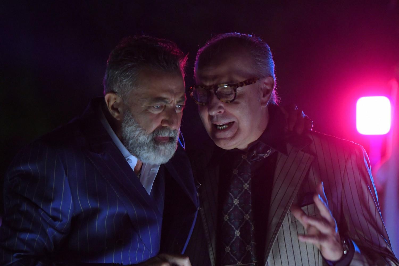 Dolceroma: un momento del film con Luca Barbareschi