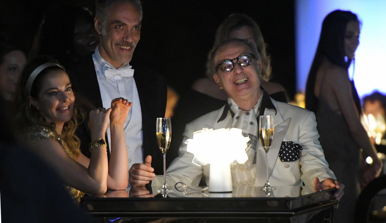 Dolceroma: Claudia Gerini durante una scena del film