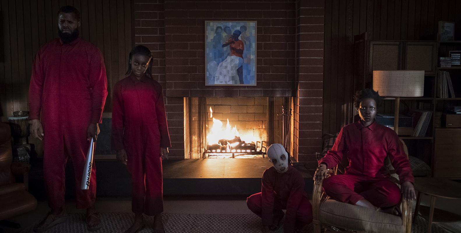 Noi: Lupita Nyong'o, Winston Duke, Evan Alex, Shahadi Wright Joseph in un momento del film
