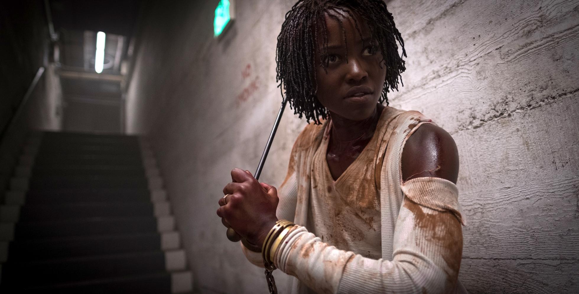 Noi: Lupita Nyong'o durante una scena