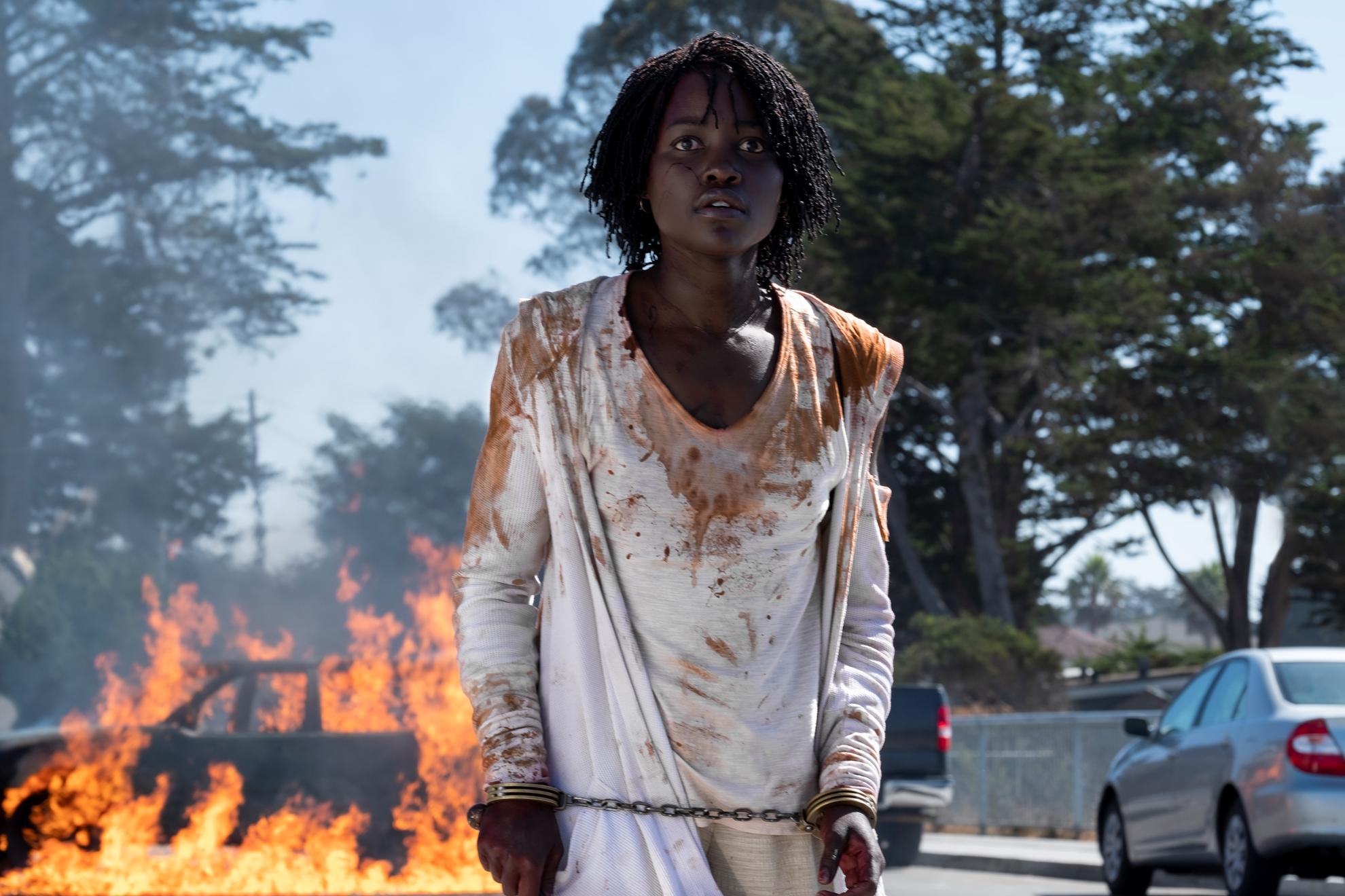 Noi: Lupita Nyong'o in una scena del film