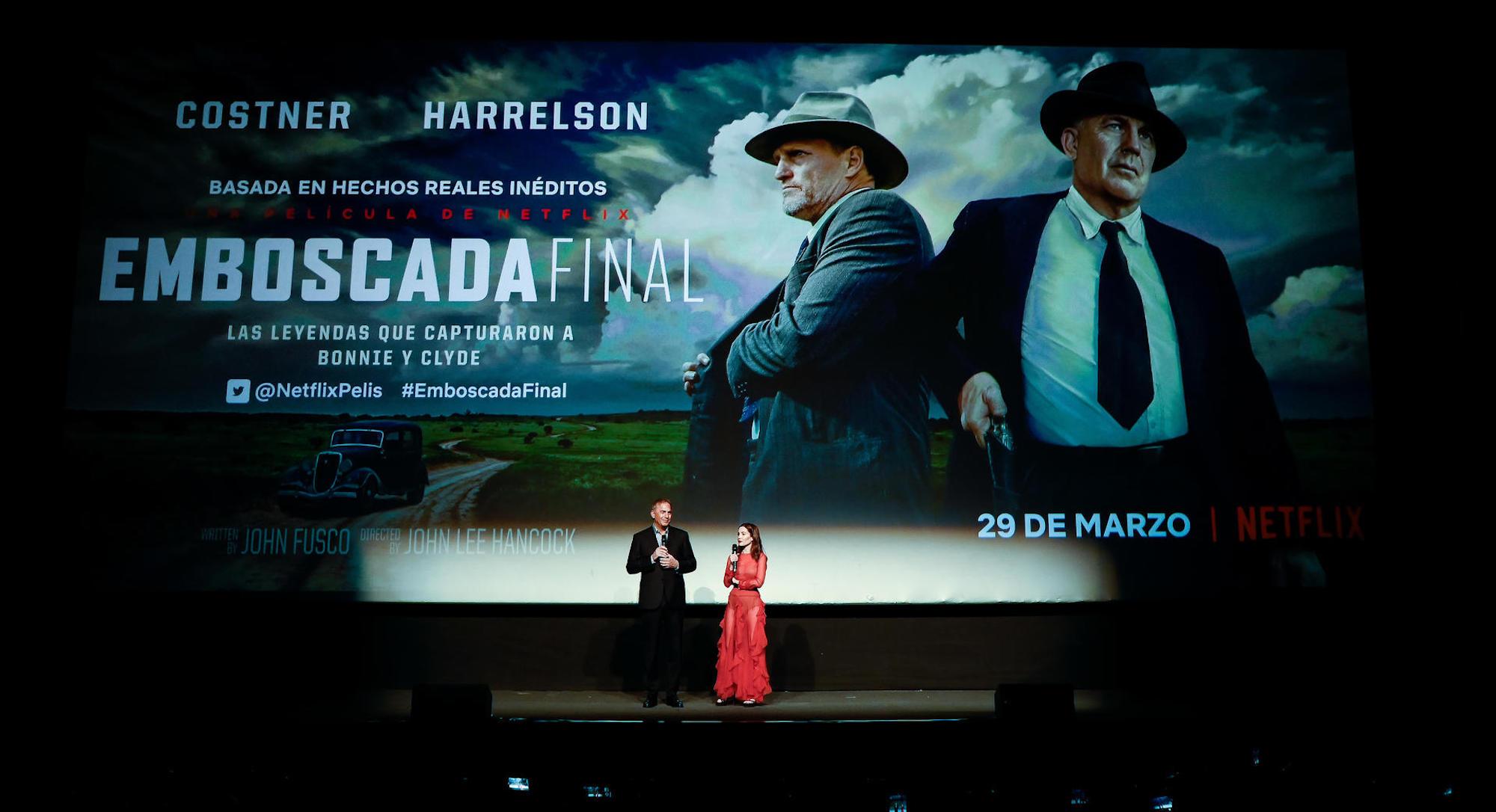 Highwaymen - L'ultima imboscata: Kevin Costner ospite della premiere di Madrid