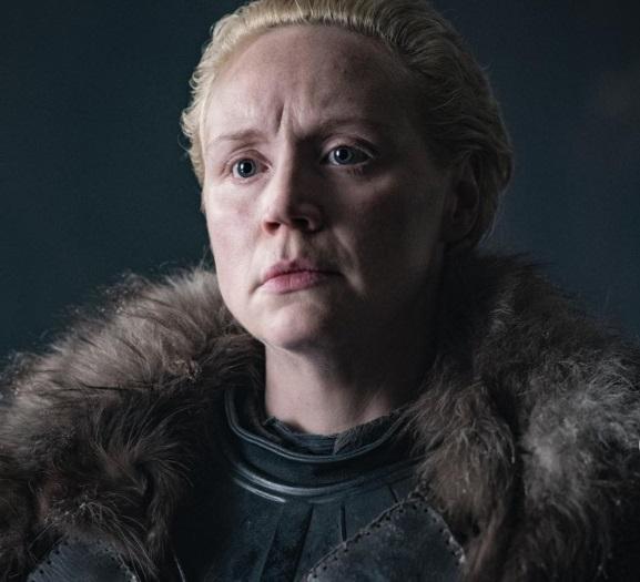 Il Trono di Spade 8: Gwendoline Christie in una foto dell'ultima stagione