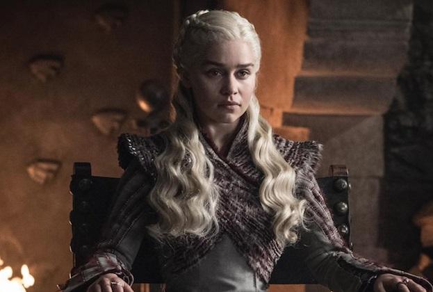 Il Trono di Spade 8: una foto di Emilia Clarke