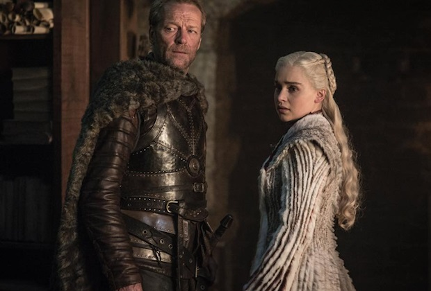 Il Trono di Spade 8: Jorah e Daenerys nell'episdio Winterfell