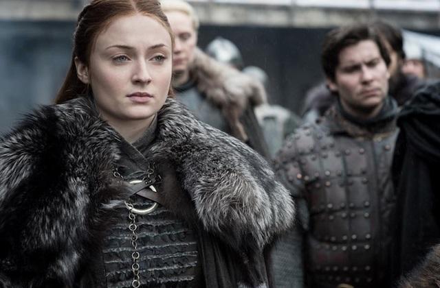 Il Trono di Spade 8: una foto di Sansa nell'episodio Winterfell