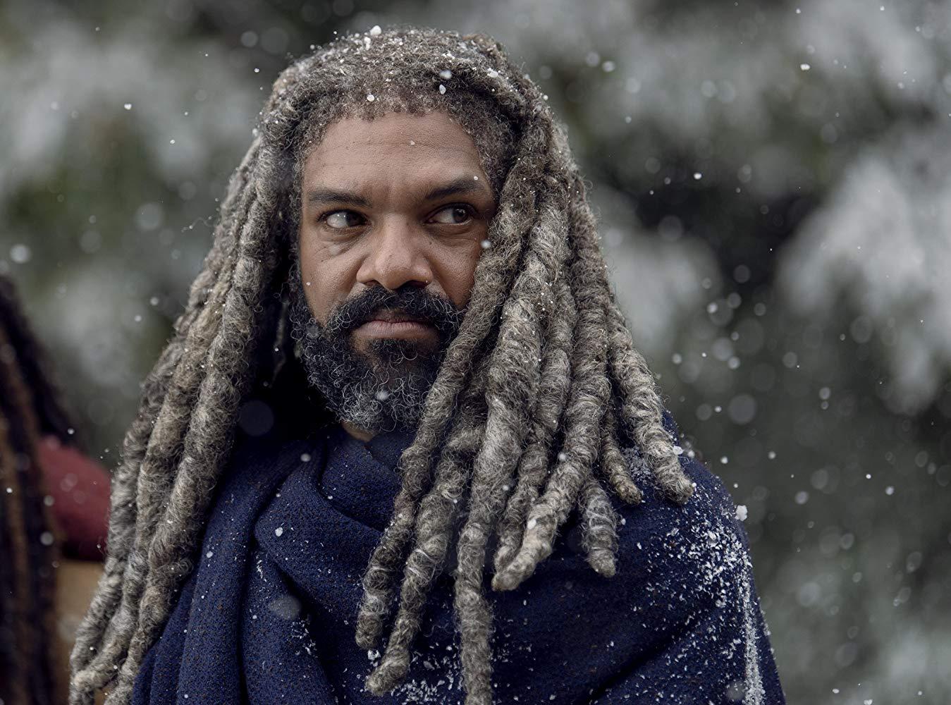 The Walking Dead: Khary Payton in una scena dell'episodio La Tempesta