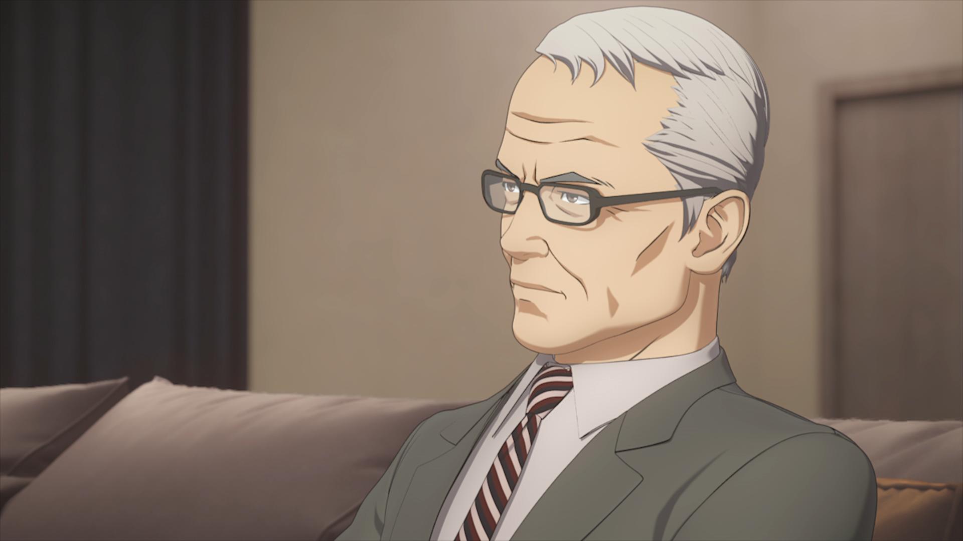 Ultraman: un anziano Shin Hayata