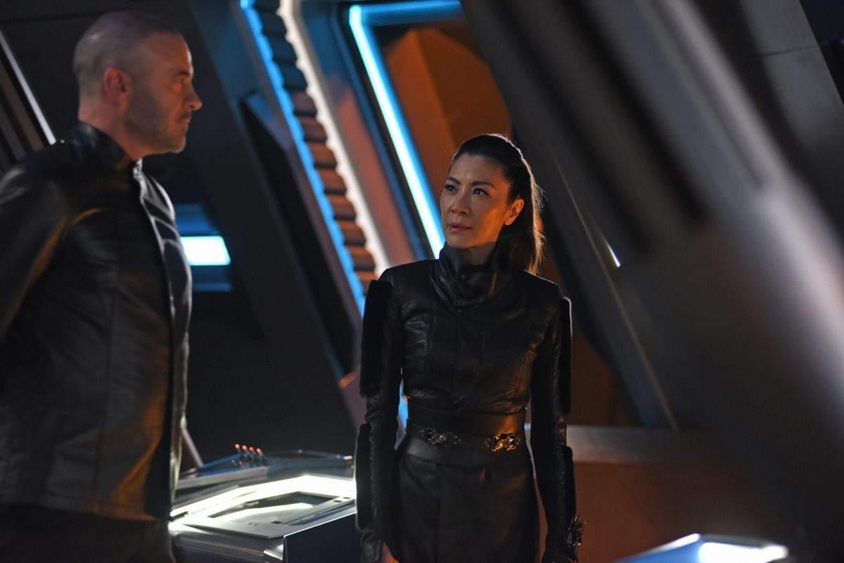 Star Trek Discovery: Michelle Yeoh nell'episodio Perpetua Infinità